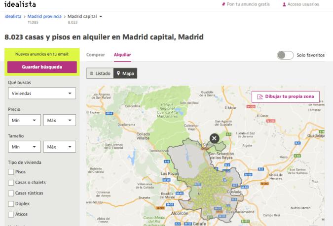 Buscar piso en Madrid Idealista